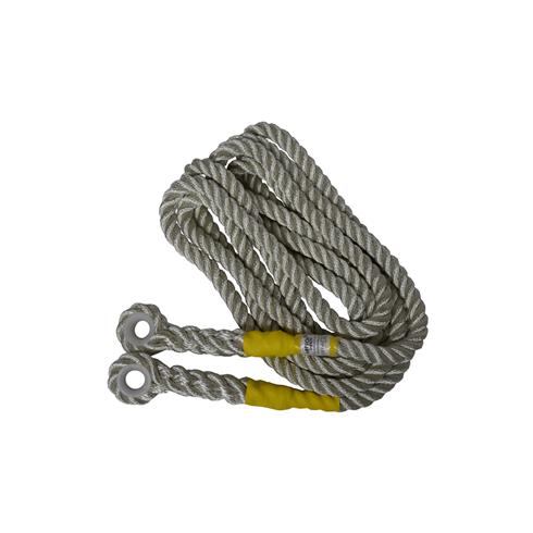 Abtech Safety 16mm Nylon Rope c/w Plastic Eyes 10mtr, 15mtr, 20mtr