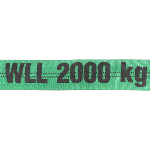 Round Sling 2Tonne Lengths From 0.5mtr to 6mtr EWL Available