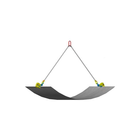 CAMLOK THK 'Thin Sheet' Horizontal Plate Clamp