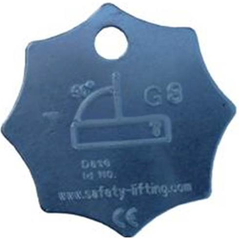 LiftinGear Metal I.D.Tag