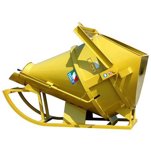 500ltr Levered Coneflow Concrete Skip