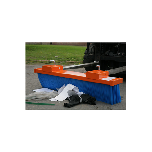 1500mm wide Fork Mounted Sweeper