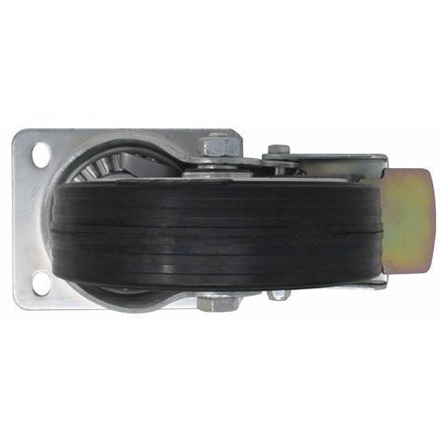 Aluminium Gantry (W1) 160mm Rubber Swivel Brake Caster (set of  4 Wheels)