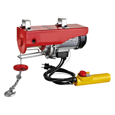 Electric Wire Rope Hoist 125kg, 240 volt x 18mtr HOL