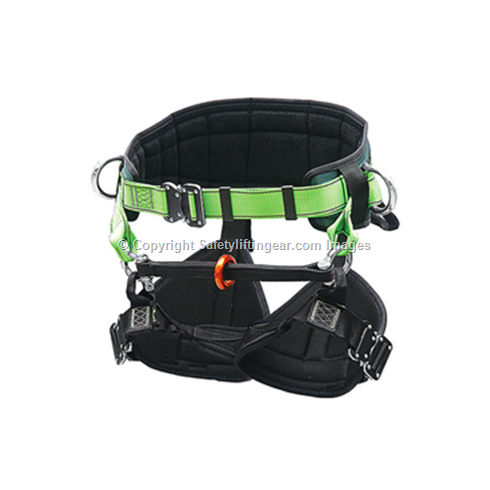 Tree Climbing Harness with Quick Release Buckles