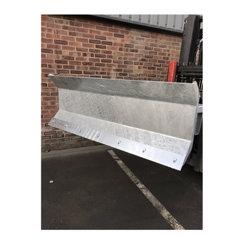 Fork Mounted Snow Plough Attachment 1500mm Blade Width