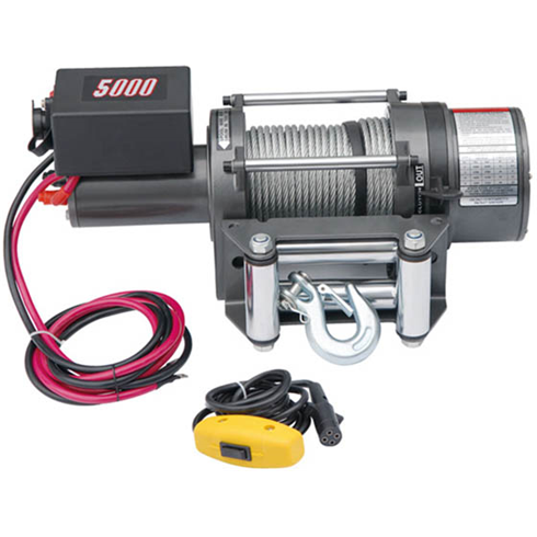 Electric Vehicle Winch 12vDC 5000LBS(2272kgs)