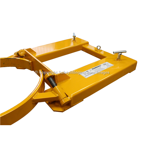 Forklift Drum Grab Safety Lifting