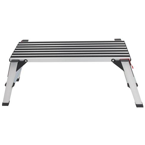 Anti-slip Aluminium Low Level Work Platform 950x300x500mm
