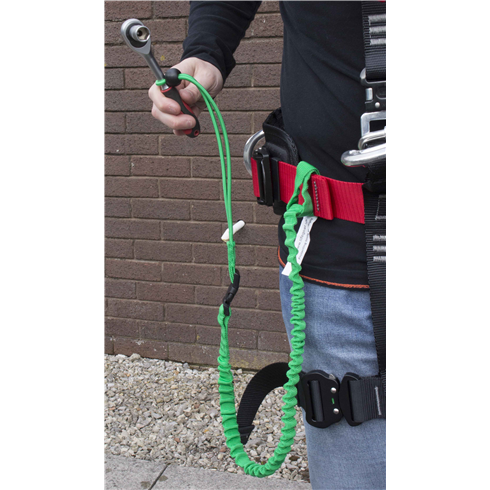 "Tool Safety Lanyard ""Economy"" model 1.5kg with connecting buckle"