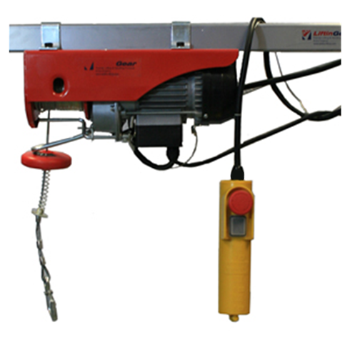 Electric Wire Hoist 200kg, 240volt x 18mtr HOL