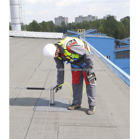 Permament Horizontal Safety Line System - PRIM