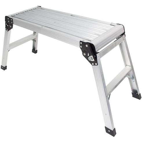 Aluminium Low Level Work Platform 750x300x500mm