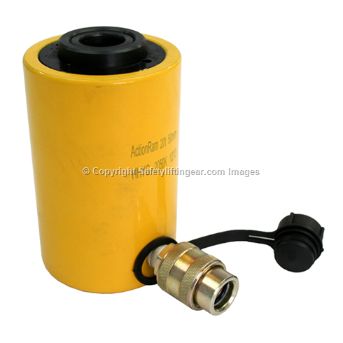 30t hollow cylinder 100mm stroke