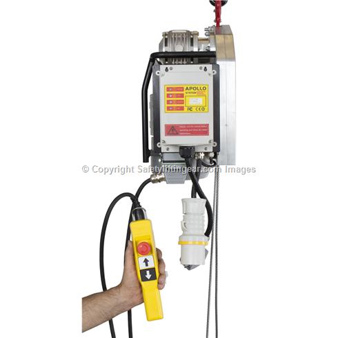 Radio Controlled 500kg Electric Wire Hoist 20mtr 30tr, 60mtr & 120mtr