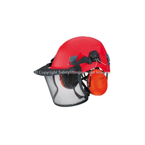 Edelrid Ultra Lite II Helmet with Visor & Ear Protection