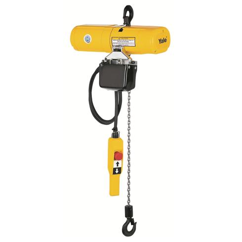 YALE CPS Lightweight 125kg 110volt Electric Chain Hoist