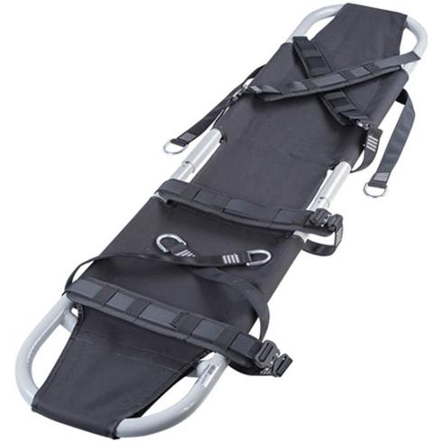 Cotton Fabric Aluminium Folding Rescue Stretcher