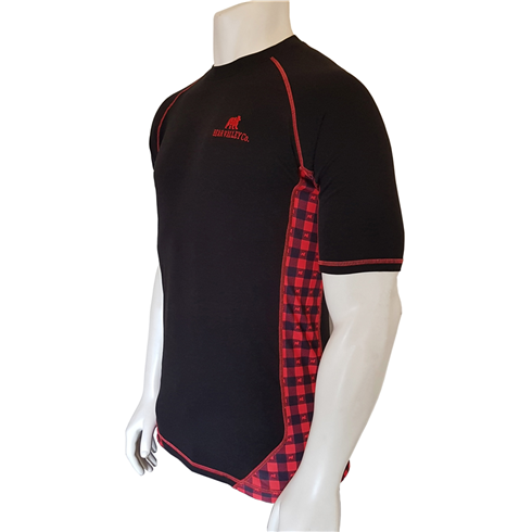 Bear Valley Red & Black Lumberjack T-Shirt