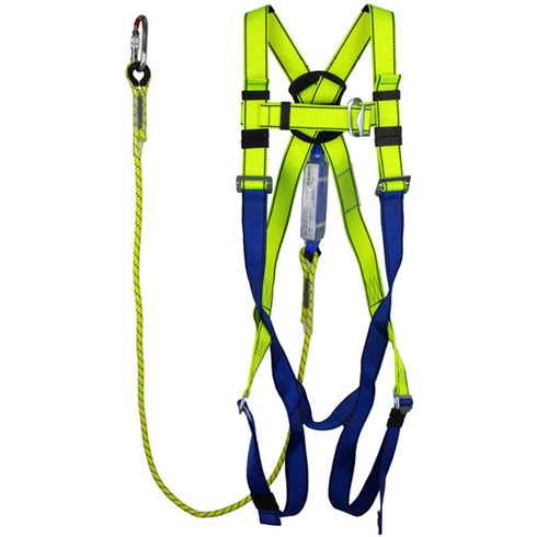 Harness / Shock Absorber Lanyard and Karabiner