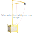 RJ200 Hangman Frame Lorry/Container Access Anchor with Weights