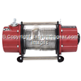 Battery Powered Portable Winch Pulling force 750kg.