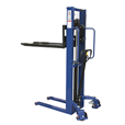 1000kg Manual Stacker Truck 1600mm Lift Height