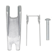 G8 Safety Catch to suit 16mm Clevis Latch Hook