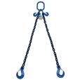 5.6 tonne Grade 100 2 Leg Chainsling c/w Latch Hooks