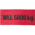 5Tonne Webbing Sling Lengths from 2mtr to 12mtr EWL Available