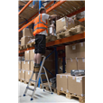 Aluminium Foldable Step Ladder 3 tread