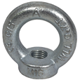 Eyenuts for Lifting Sizes 8mm to 36mm (Metric course thread)