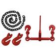 20865kg M.B.S Ratchet Loadbinder Kit with Grab Hooks