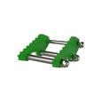 3000kg Aluminium Gantry, 5mtr beam, 3300-5700mm