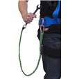 "Tool Safety Lanyard ""Economy"" model 5kg with connecting buckle"