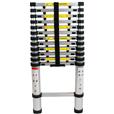 Aluminium Telescopic Ladder Sizes 2.6m - 3.8m