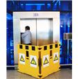 Addgards Supergard 2-panel Yellow/Black Safety Barrier