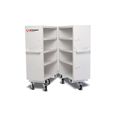 Armorgard FC5 FittingStor Mobile Site Cabinet Bi-fold Design