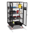 Armorgard FC6 FittingStor Mobile Site Cabinet 1000x750x1800mm