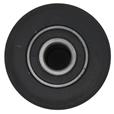 2.5 tonne 80x70mm Load Wheel c/w Bearing
