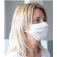 Reusable Easy Breathe Sports Face Mask, White