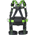 Miller 1033538 Bodyfit H-Design Size 3 2pt Full Body Harness 2 Loops