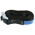 Cam buckle Lashing / load restraint strap. 1mtr to 6mtr.