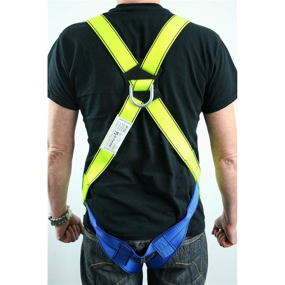 Scaffolders Harness Kit Inc Lanyard And Scaffold Hook