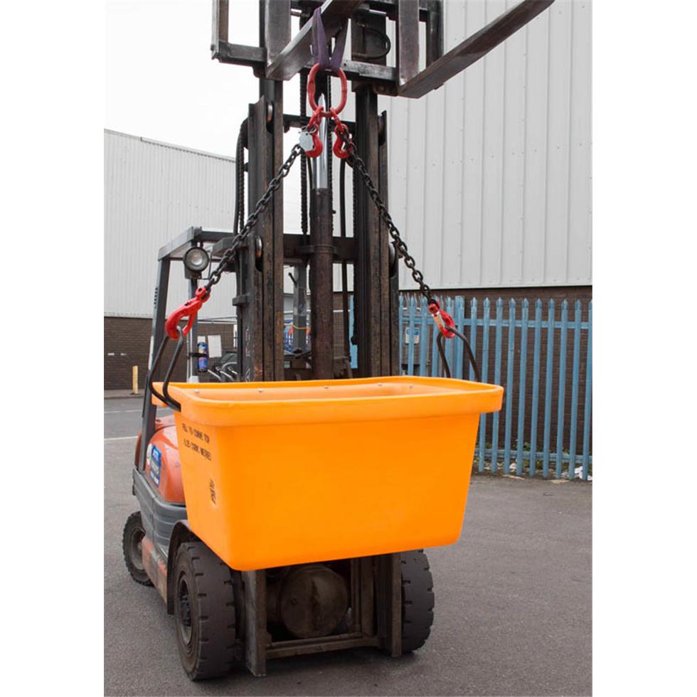 250ltr Crane Forklift Mortar Tub Safety Lifting