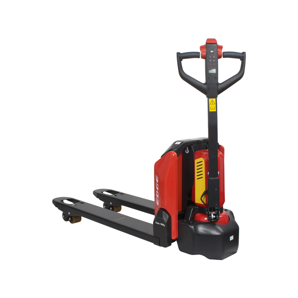 1500kg 'Edge' Fully-electric Battery Pallet Truck 540x1150mm| Safety Lifting