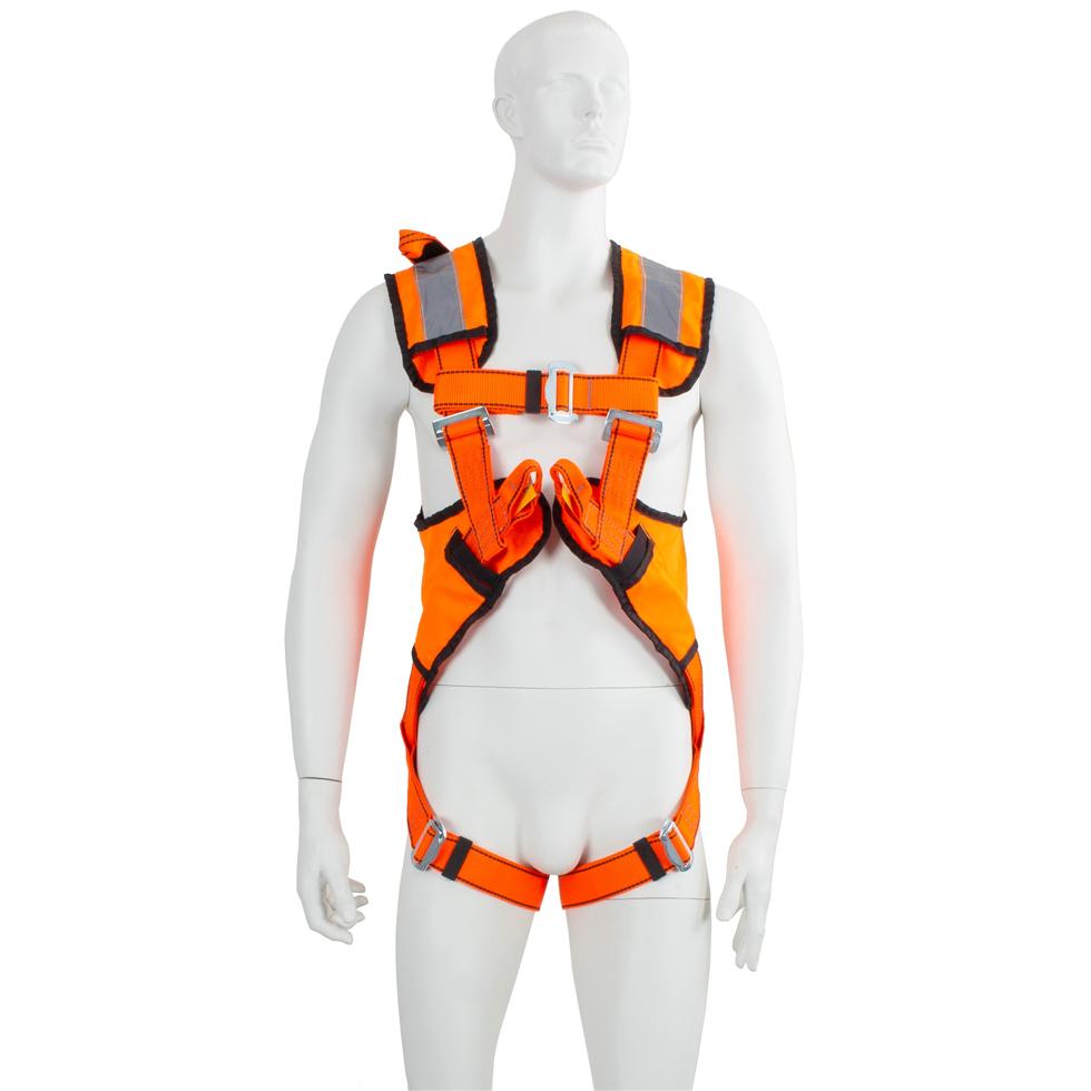 P30 Two Point Hi Viz Full Safety Harness Orange Lifting