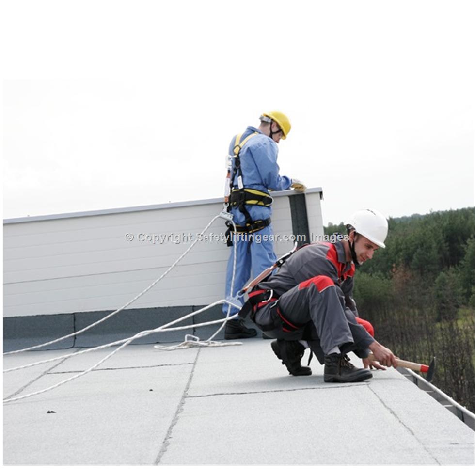 Permament Horizontal Safety Line System Prim Safety Lifting