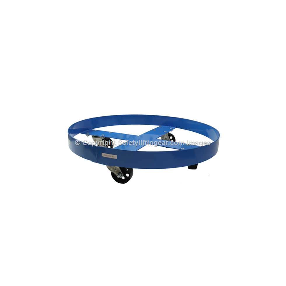 Drum Trolley Dolly For 205 Litre Drums Safety Lifting